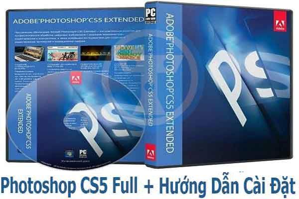 Download Adobe Photoshop CS5 Full + Hướng Dẫn Cài Đặt
