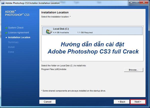 Download Adobe Photoshop CS3 Full + Hướng Dẫn Cài Đặt