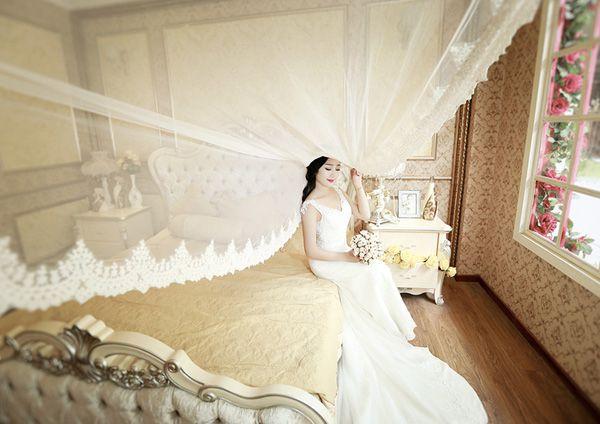 [PSD] Phông nền ghép ảnh cưới studio