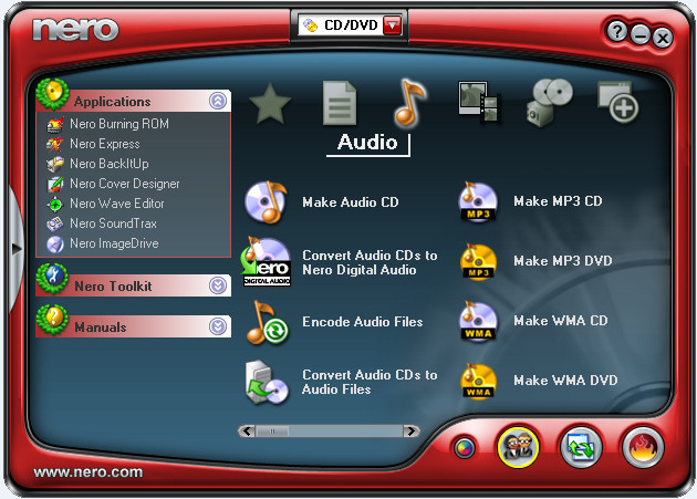 Download Nero Burning ROM 6 full + Hướng dẫn cài đặt